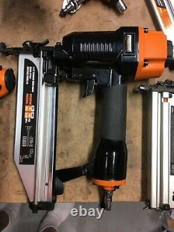 Freeman Complete Nail Gun Combo Kit Set of 8 Ergonomic & Light nailers and Stape