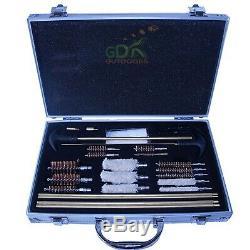 GDK Aluminium case UNIVERSAL CLEANING KIT, SHOTGUN, RIFLE, GUN CLEANING KIT