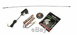 GREY Lancer Tactical GEN2 M4 EVO AEG Airsoft Rifle Gun + 9.6 Battery Charger Kit