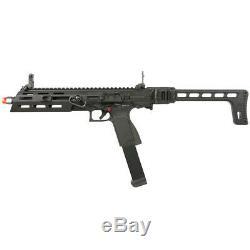 G&G Full Metal SMC-9 GBB M-LOK Airsoft PDW Pistol Carbine Kit SMC-9MM-BBB-ECM