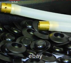 Gallon PFC BLACK Rust Protection Pro Undercoating Spray Gun Kit 2 Wands 2 Qt