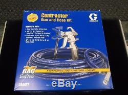Graco Airless Paint Gun 288487 RACX Hose Kit + Whip Hose & Tip FREE SHIPPING
