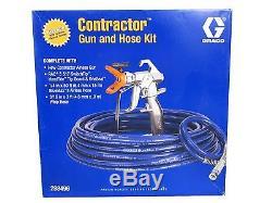 Graco RAC 5 Contractor High Quality Airless Spray Gun 288496 Gun Hose Whip Kit