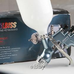 HD01 HVLP Air Paint Spray Gun Kit Auto Paint Car Primer Detail Base Coat Repair