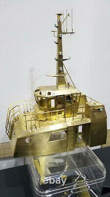 HDMS ALSIN Pusher/Tug Scale 1/48 333 mm 76 mm main gun Model ship kit
