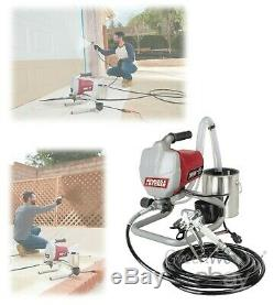 High Pressure Airless Paint Sprayer Kit Wall Spray Gun Machine 3000PSI 5/8 HP