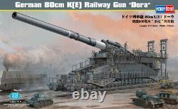Hobby Boss 1/72 German 80cm K(E) Railway Gun Dora # 82911