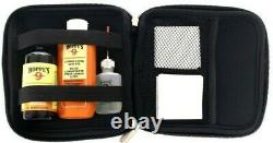 Hoppes Elite Gun Cleaning Kit. 38.45 Cal. Gun Oil, Patches With Case