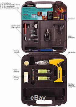 IRODA Solder Pro 180K Multifunction Gas Soldering Iron Gun Tool Kit
