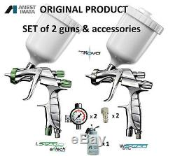 Iwata LS400 1.3 / WS400 1.4 KIT BASE/CLEAR Supernova Spray Guns NEW & AUTHENTIC