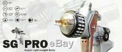KIT SGPRO HVLP 1.3 (Color) + SGPRO MP 1.3 (Clear) Professional Spray Gun