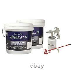 LIzardSkin Ceramic Insulation Kit with Spray Gun 4 Gallon
