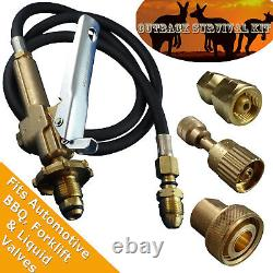 LPG Filler Gun & Hose Outback Survival Decanting Kit