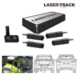 Lazer Track Flare Quad Transponder Kit Speed Trap Lazer Detector Beam Gun