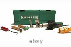 Leister TRIAC ST BASIC Heat Gun Roofing Hot Air Welder Kit 120V and Carry Case