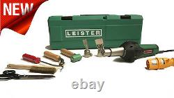 Leister Triac ST Roofing Heat Gun Kit 120V Hot Air Welder