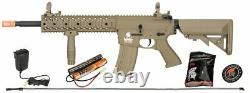 Lt-12tl-g2 Gen2 Lancer Tactical Airsoft Rifle Ris Evo Aeg 6mm Gun + Battery Kit