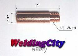 MIG Welding Gun Kit. 035 for Lincoln 100L Tweco Mini/#1 Tip-Diffuer-Nozzle M3