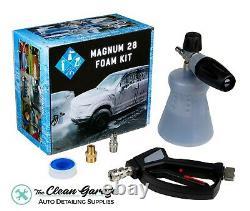 MTM PF22.2 Foam Cannon and SGS28 Swivel Gun Magnum 28 Kit New Bottle