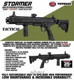 Maddog Tippmann Stormer Tactical Titanium HPA Paintball Gun Marker Starter Kit