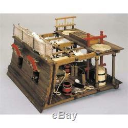 Mantua Battle Station Diorama Kit Intricate Gun Deck of British Ship 740