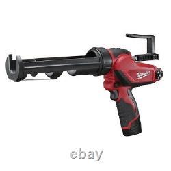 Milwaukee 2441-21 M12 10oz Variable Speed Cordless Caulk And Adhesive Gun Kit