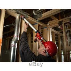 Milwaukee 2442-21 M12 Li-Ion 20 oz. Aluminum Barrel Caulk & Adhesive Gun Kit New