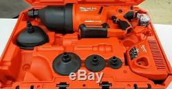 Milwaukee 2572A-21 M12 Air Snake Drain Cleaning Air Gun Kit