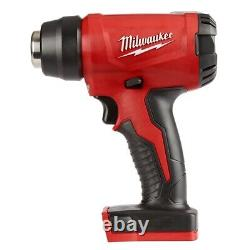 Milwaukee 2688-20 M18 Compact Heat Gun Bare Tool Only Or with 5.0 Battery Option