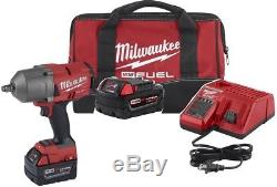 Milwaukee 2767-22 M18 FUEL GEN II 1/2 Drive Impact Gun Kit 1400 FT/LBS