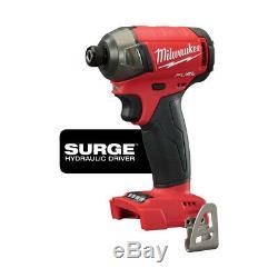Milwaukee 2896-22 M18 FUEL Drywall Screw Gun & 1/4 in. Hydraulic Driver Kit New