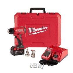 Milwaukee Cordless Compact M18 Heat Gun Kit MLW2688-21 Brand New in case