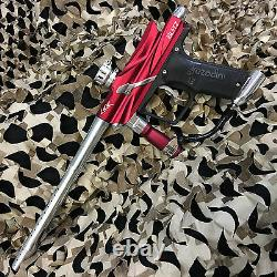 NEW Azodin Blitz 3 LEGENDARY Paintball Marker Gun Package Kit Red/Silver