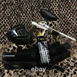 NEW Azodin KP3 EPIC Pump Paintball Marker Gun Package Kit White/Gold