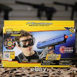 NEW JT Splatmaster Z100 Spring Paintball Pistol Gun Marker 2 vs 2 Package Kit