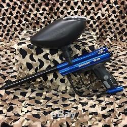 NEW Kingman Spyder Victor EPIC Paintball Marker Gun Package Kit Gloss Blue