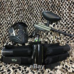 NEW Kingman Spyder Victor LEGENDARY Paintball Gun Package Kit Olive Green