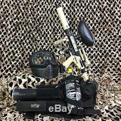 NEW Tippmann Cronus Tactical EPIC Paintball Marker Gun Package Kit Tan/Black