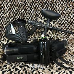 NEW Tippmann Gryphon LEGENDARY Paintball Marker Gun Package Kit Carbon Fiber