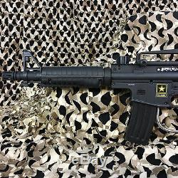NEW Tippmann US Army Alpha Black Elite Tactical EPIC Paintball Gun Package Kit