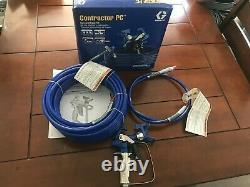 New Graco Contractor Compact Airless Paint 17Y042 Spray Gun Kit