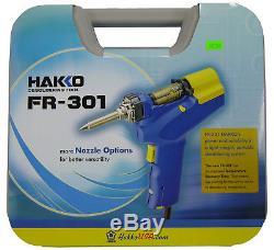 New Hakko FR301-03/P Desoldering Gun Tool FR-301 Replaces FR-300 FR300-05/P