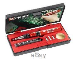New Model! Facom 1075. H Multifunction Butane Gas Soldering Iron / Heat Gun Kit