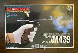 New Old Stock Marushin Smith & Wesson M439 1/1 Cap Firing Model Gun Assembly Kit