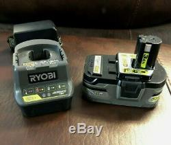 New Ryobi 18V P3410 Cordless Grease Gun Kit with (1) Battery & Charger P191 P118B
