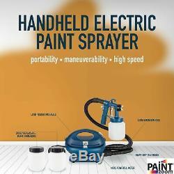 Paint Zoom Pro Handheld Electric Spray Gun Kit 925 watt Spray Gun Tool for