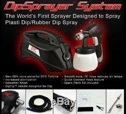 Plasti Dip 2 Gallon Kit of Matte Black & DYC DipSprayer System Gun Bundle