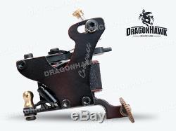 Professional Compass Tattoo Machine Kit 2 Cook Series Gun Inks Power Supply Set