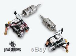 Professional Complete Tattoo Machine Kit 5 Guns Equipment Power Supply Set