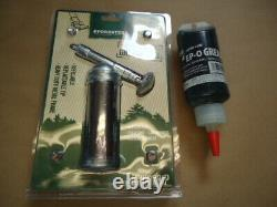 Professional Grease Gun Kit For Chainsaw Bars Bar Tip Metal EPO Grease